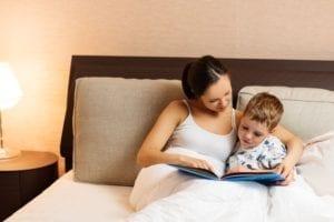 Voorlezen voor het slapen gaan
